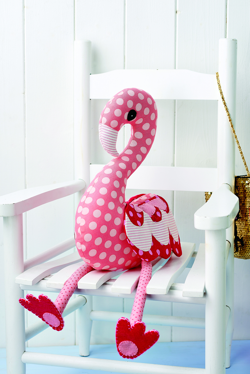Flossie Flamingo - Free sewing patterns - Sew Magazine