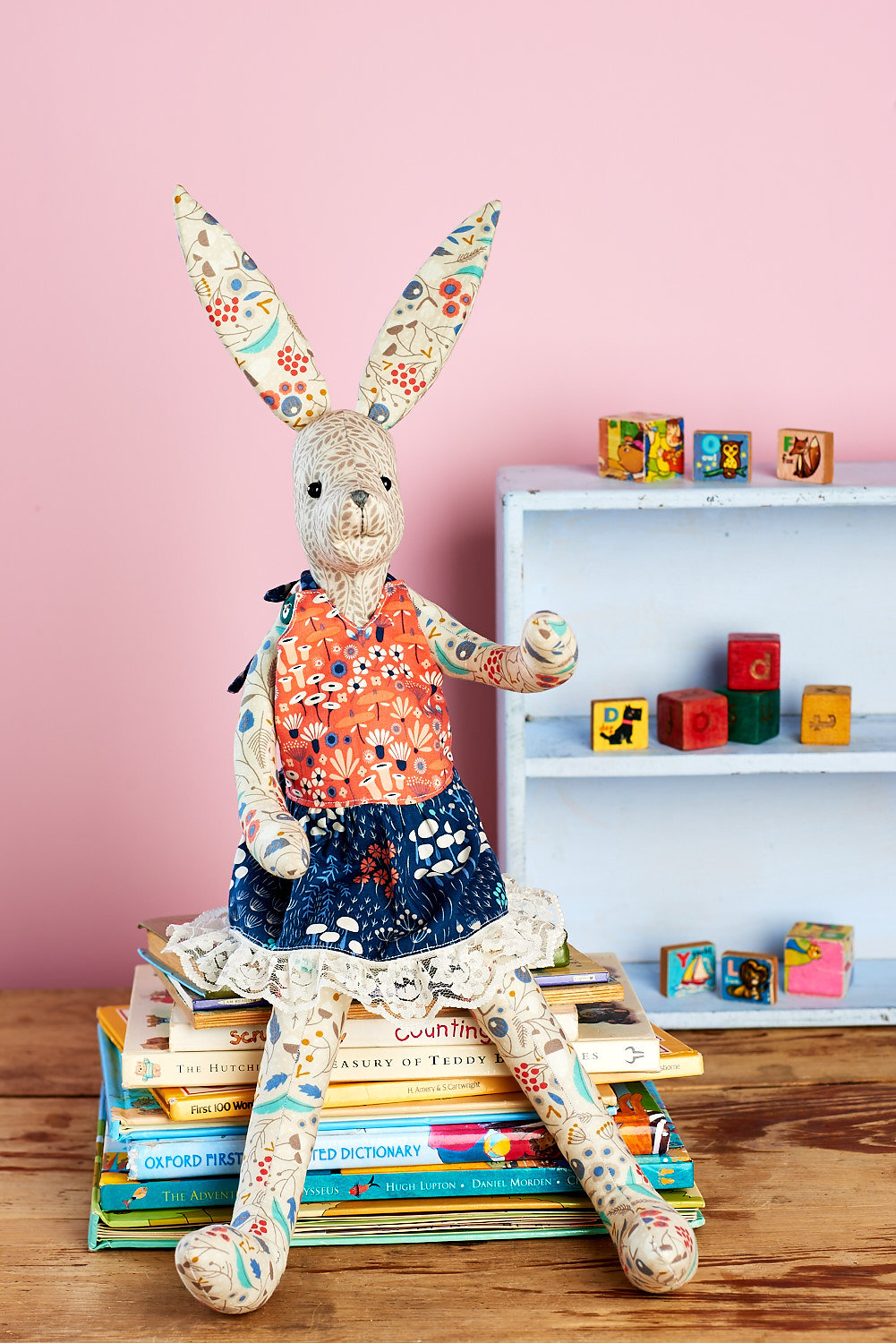 Toys Easter Magazine : Harriet hare free sewing patterns sew magazine