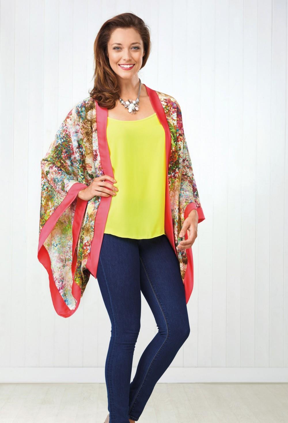 Silky Kimono Free Sewing Patterns Sew Magazine
