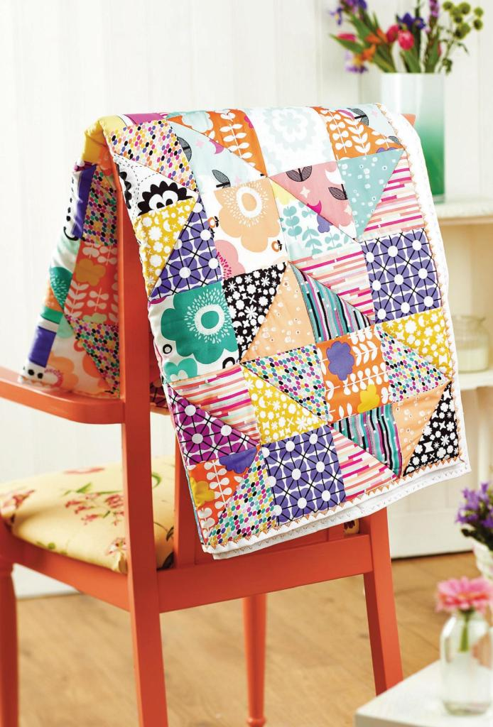 Stash Busting Quilt Free Sewing Patterns Sew Magazine