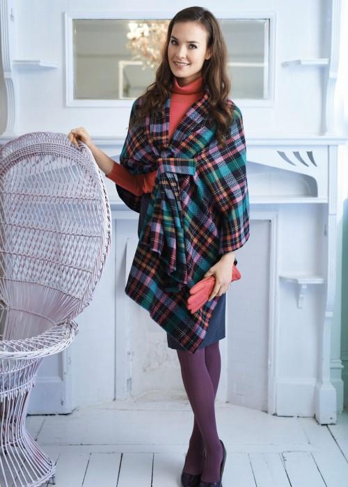 Winter Wrap Free Sewing Patterns Sew Magazine