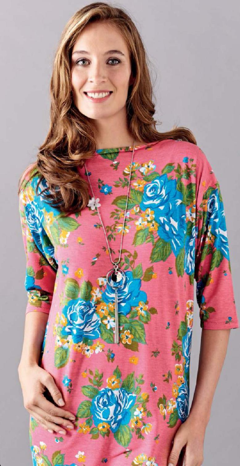 Jersey Tunic Free Sewing Patterns Sew Magazine