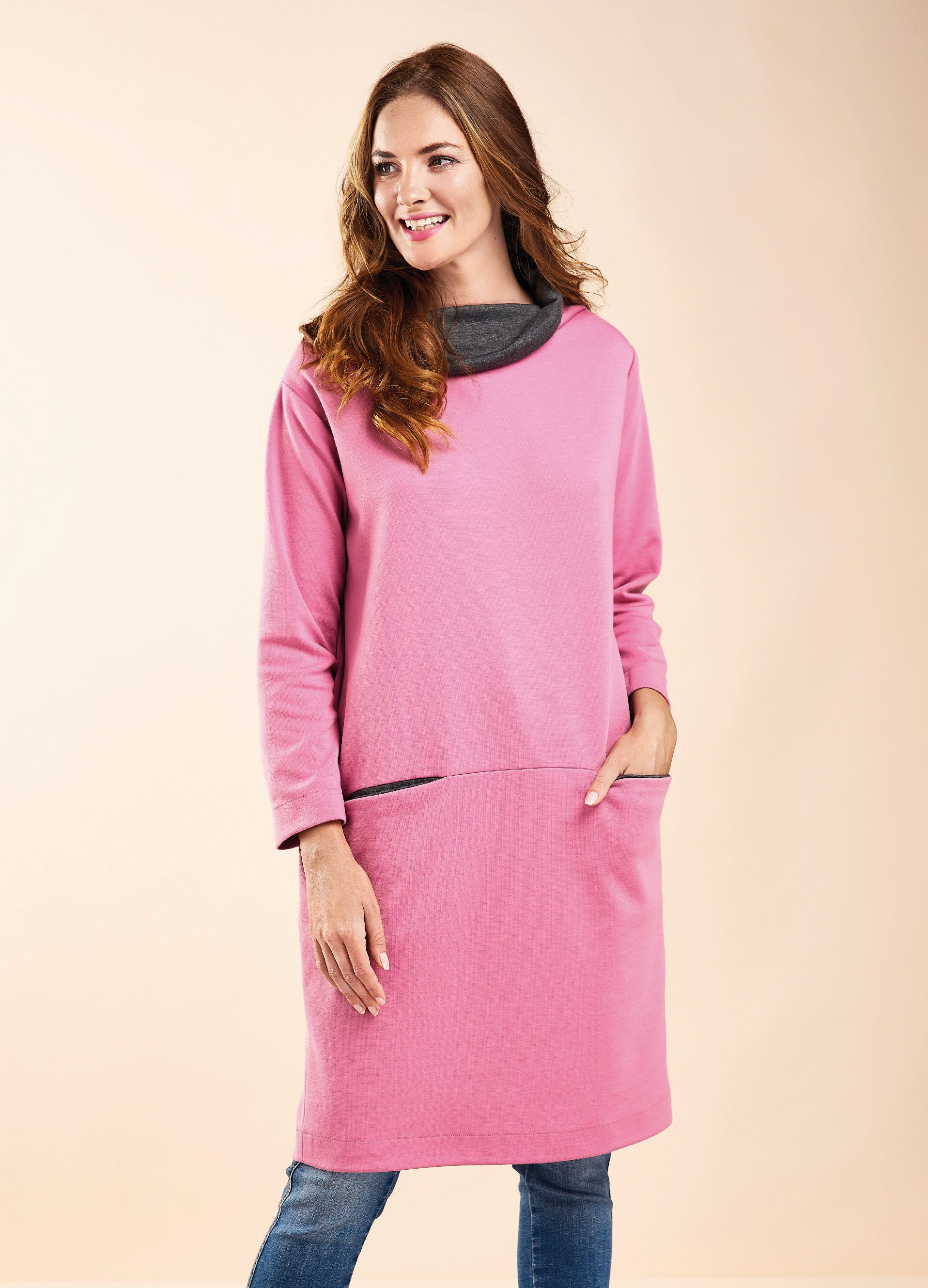 Josie Tunic Free Sewing Patterns Sew Magazine