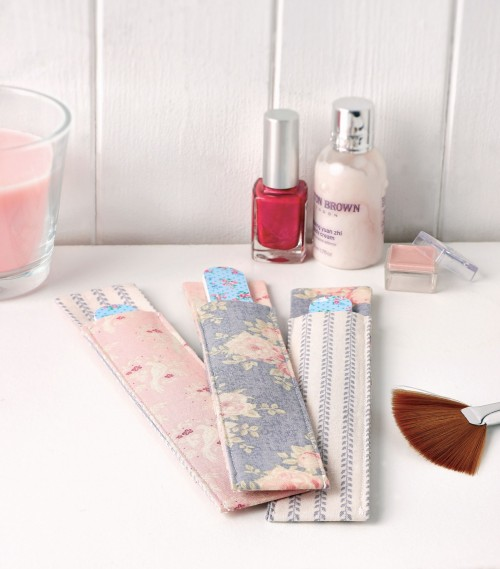 Nail File Holders Free Sewing Patterns Sew Magazine
