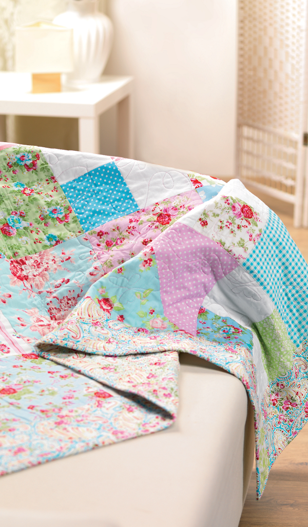 Easy Patchwork Quilt Free Sewing Patterns Sew Magazine
