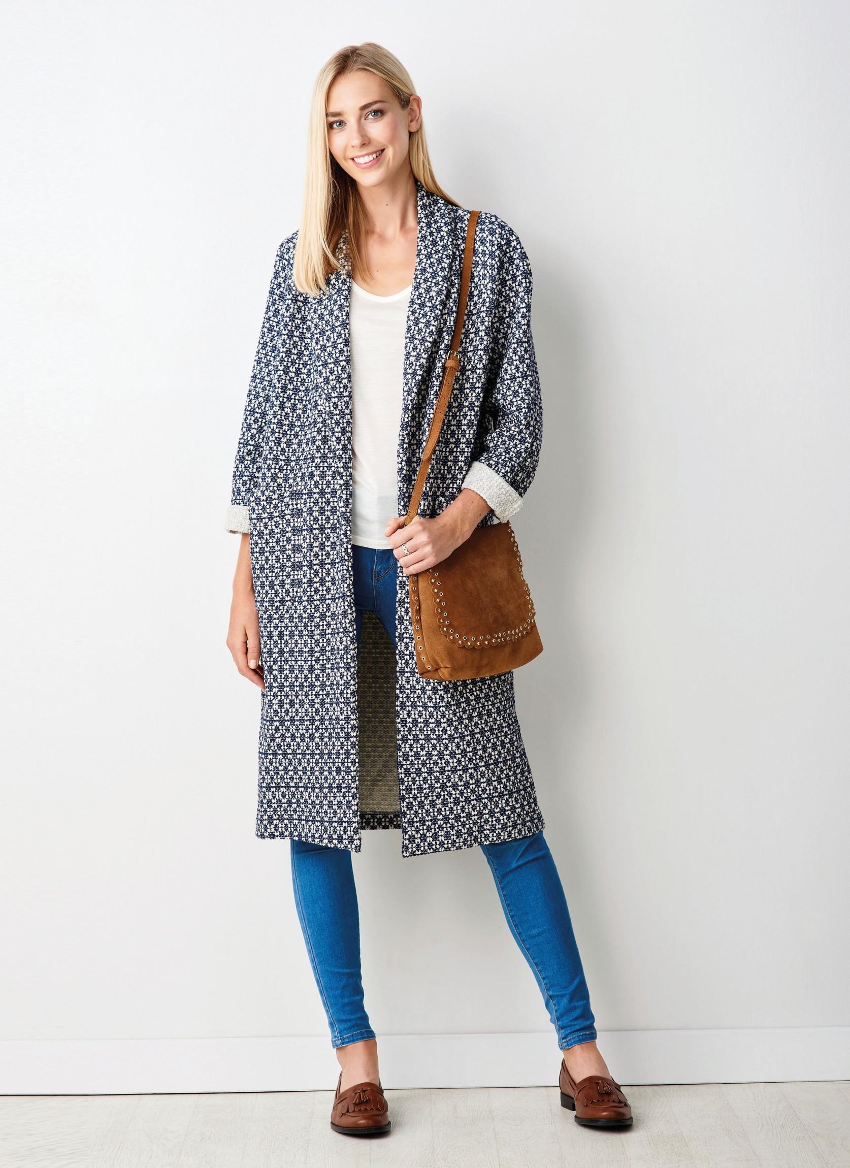 Shauna Coatigan Free Sewing Patterns Sew Magazine