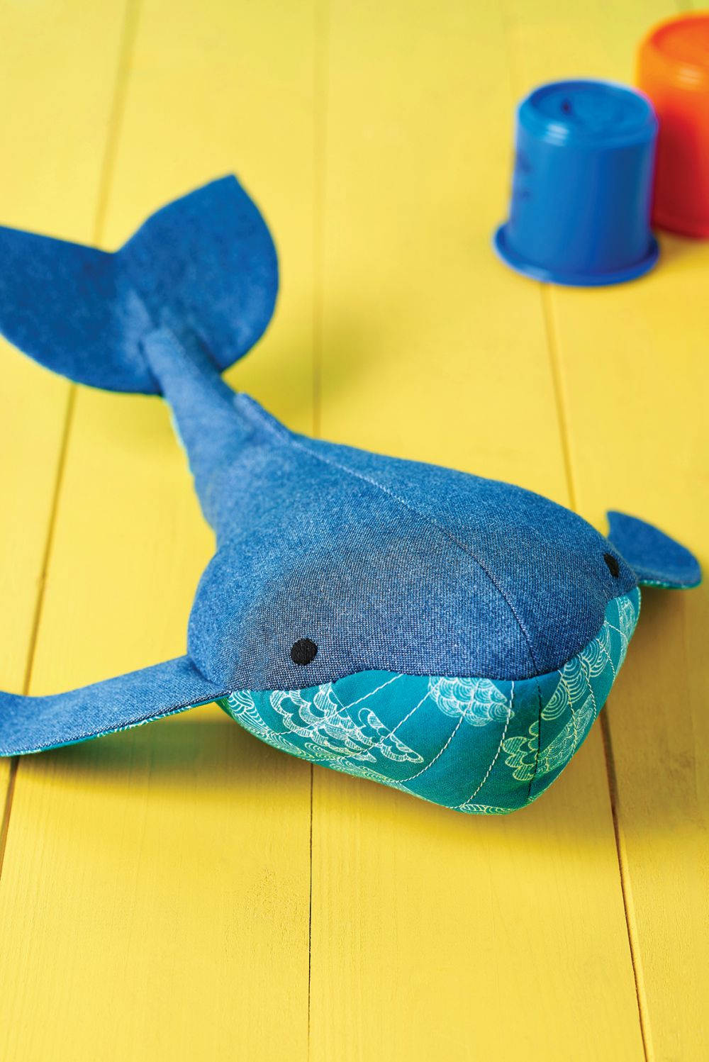 Walter The Whale Free Sewing Patterns Sew Magazine