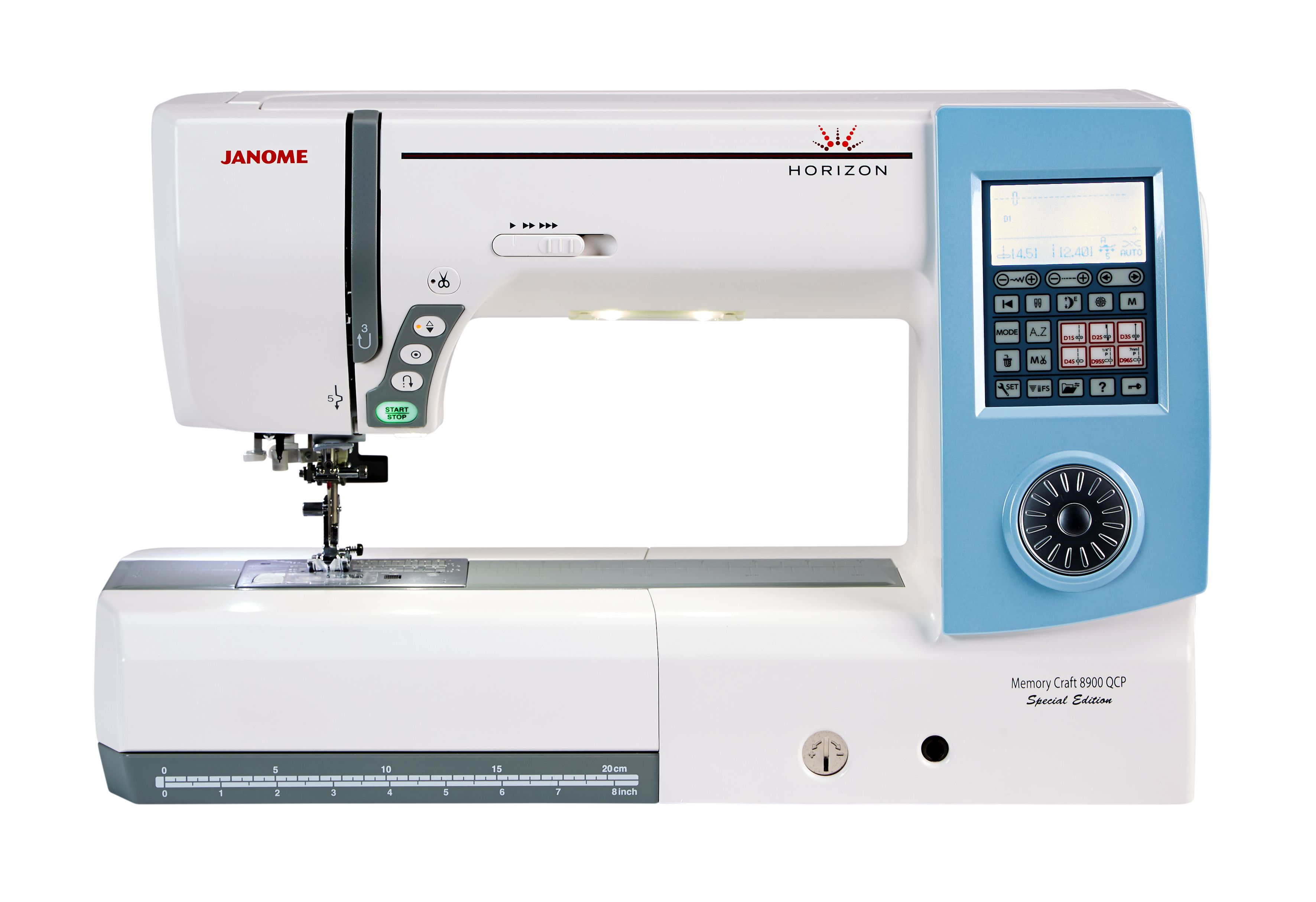 Janome horizon memory craft 8900 - Janome Memory Craft 8900 Special Edition Sewing Machine Reviews Sew Magazine