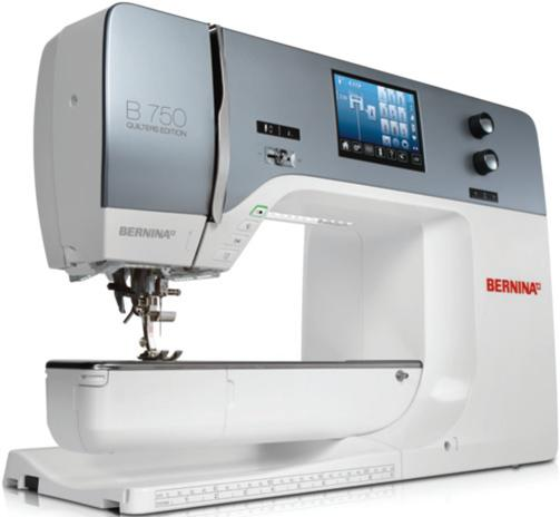 Bernina 750 QE - Sewing Machine Reviews - Sew Magazine