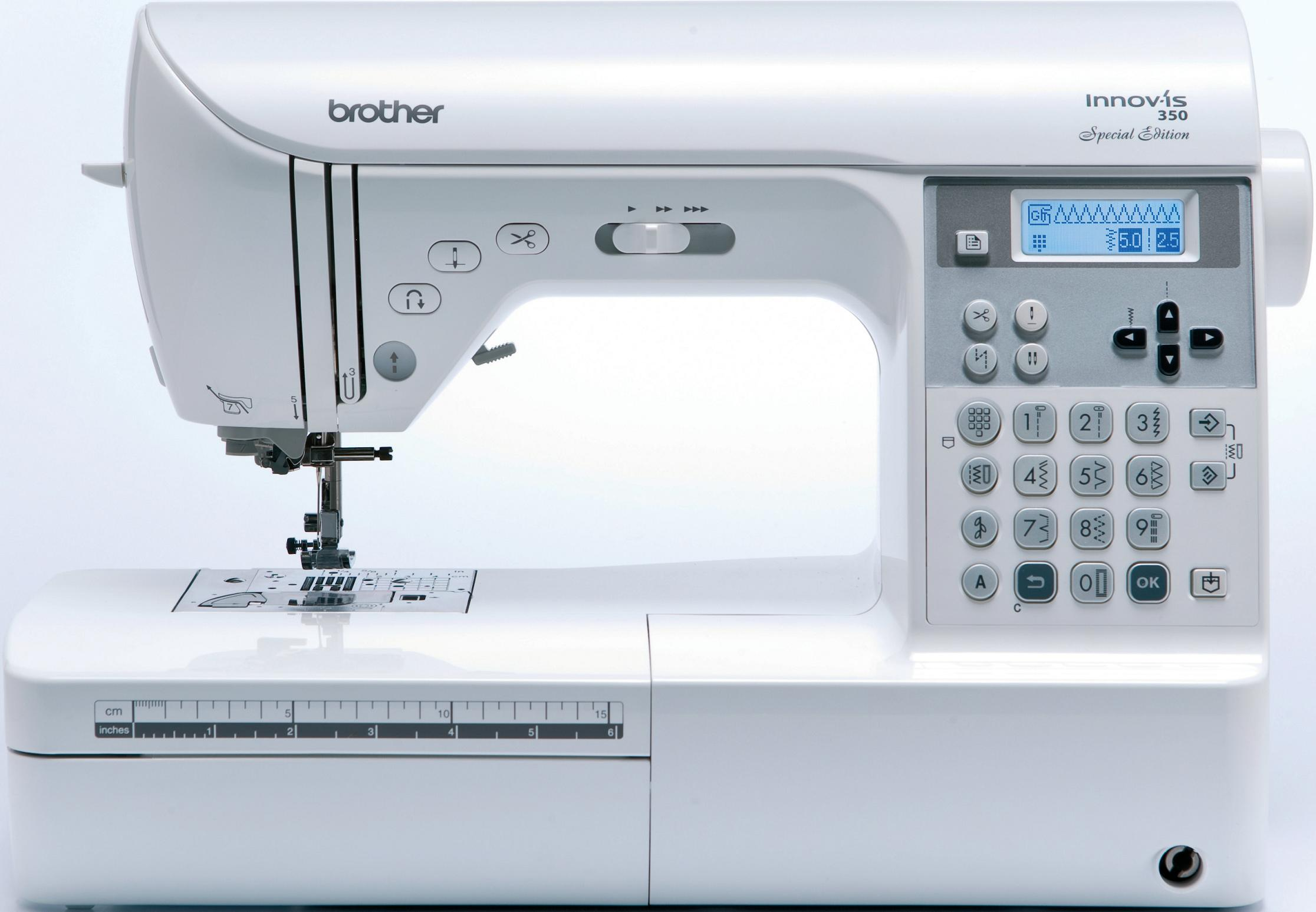 Brother Innov Is 350se Sewing Machine Reviews Sew Magazine