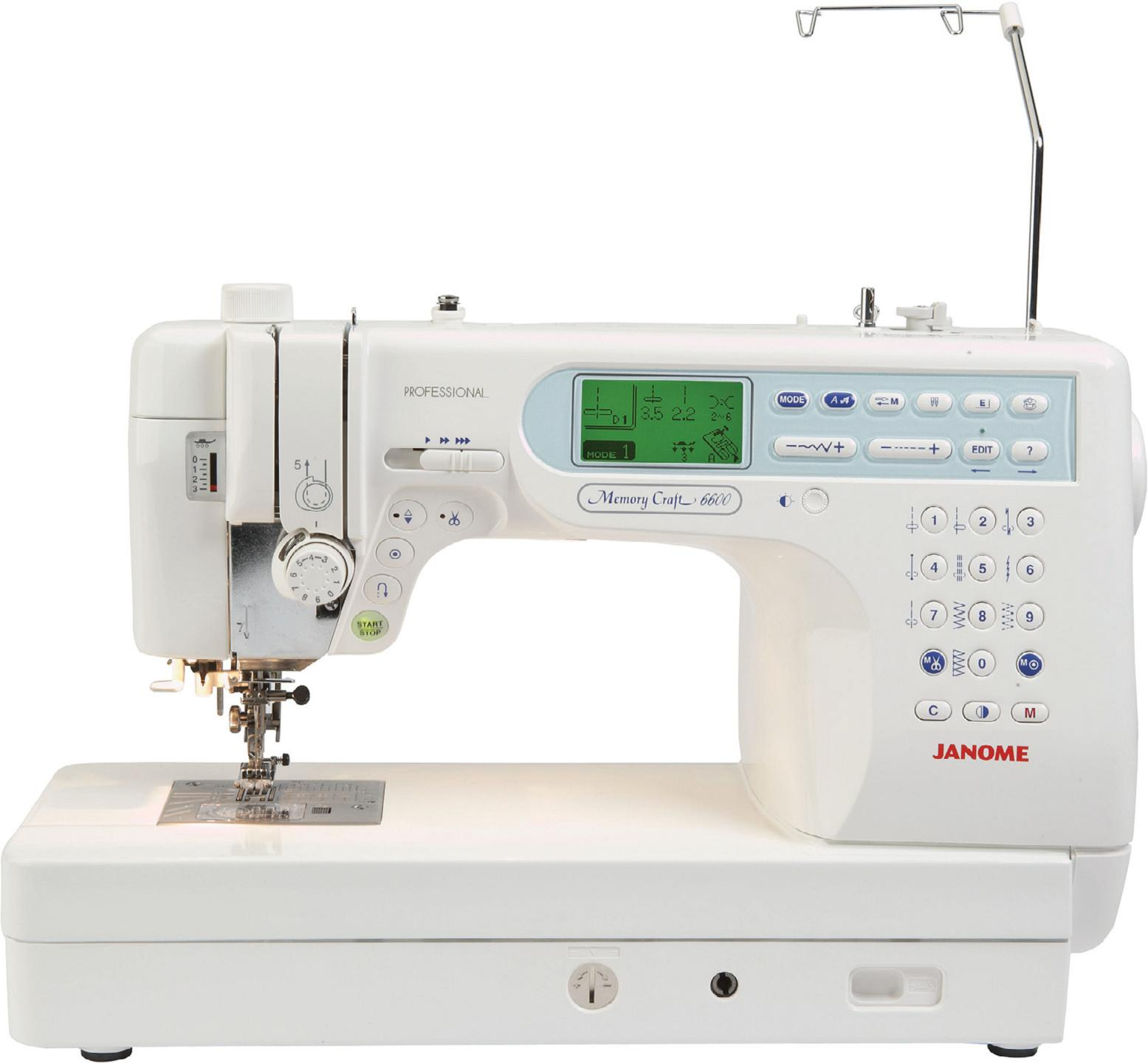 Janome Memory Craft 6600p Sewing Machine Reviews Sew