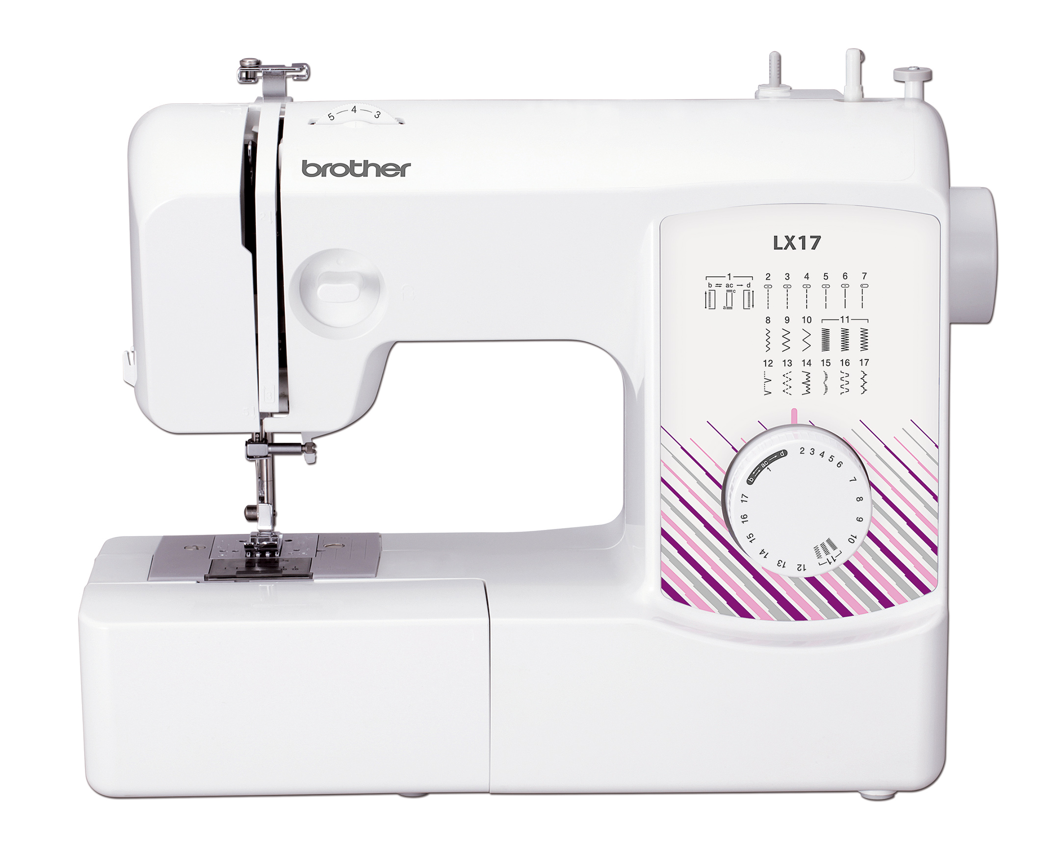 brother lx17 sewing machine reviews sew magazine. Black Bedroom Furniture Sets. Home Design Ideas