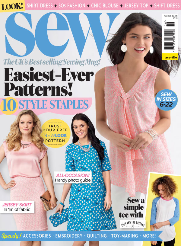 Sew March 2018 All Non Garment Templates Magazine