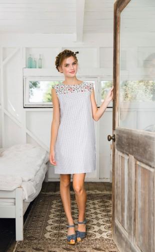 Everyday Shift Dress Magazine Templates Sew Magazine