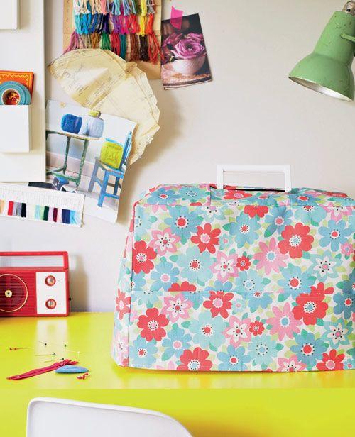 Cath Kidston Sewing Machine Cover - Magazine Templates - Sew Magazine
